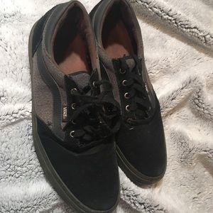 Black Gilbert Crockett Vans